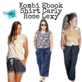 Kombi Ebook Hose Lexy und Shirt Carly